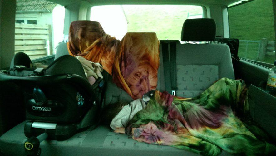 Erstes mal ein paar Stunden Schlaf im Bus