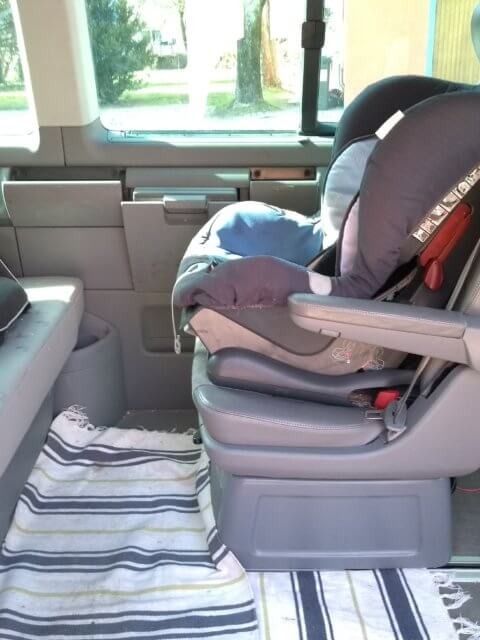 T5 Multivan Einzelsitz hinten
