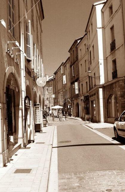 Stadtbild Cluny