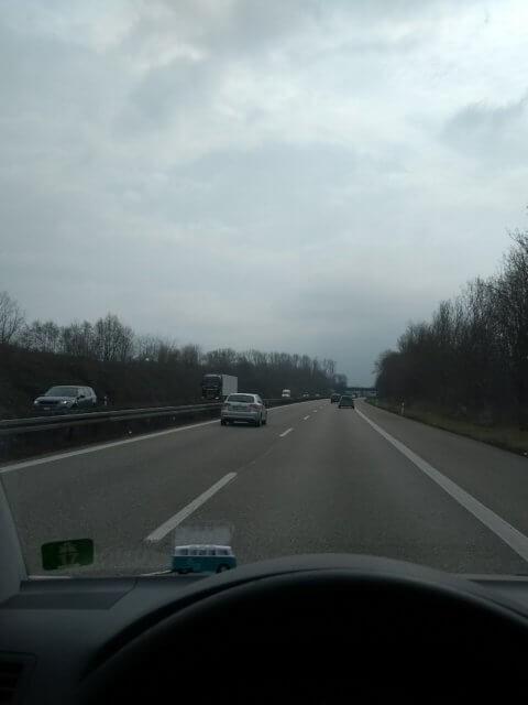 Unterwegs auf der Autobahn