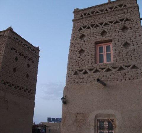 Bei Merzouga kurz vor der Sahara