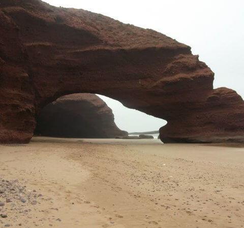 Stone Arches bei Sidi-Ifni