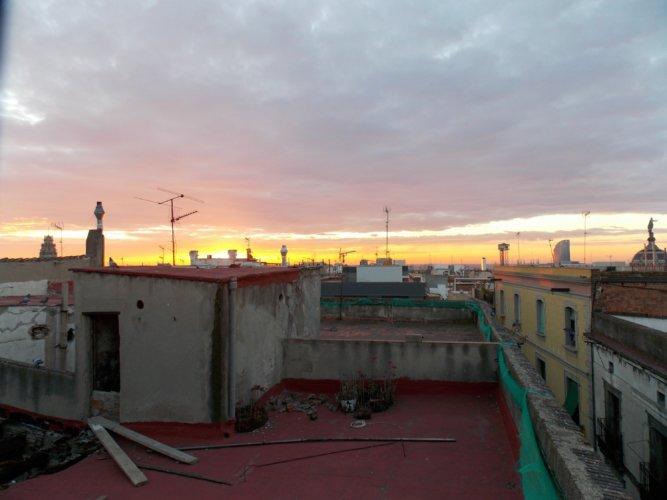 Nachbar Dachterrasse