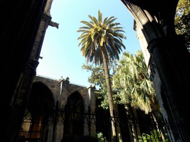 Barcelona bei der Kathedrale
