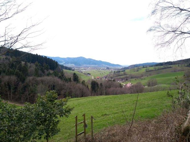 Thomashof - Aussicht von der Kapelle