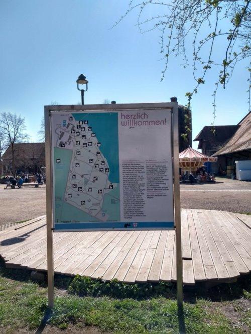 Mundenhof - Lageplan