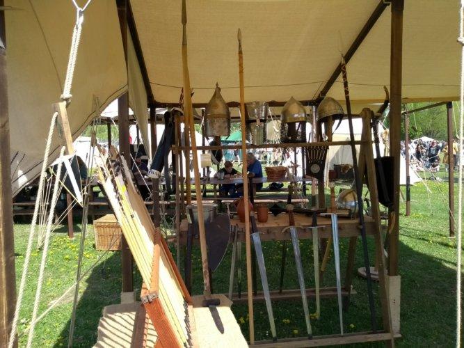 Mittelalterfest Mundenhof - Rüstung und Waffen