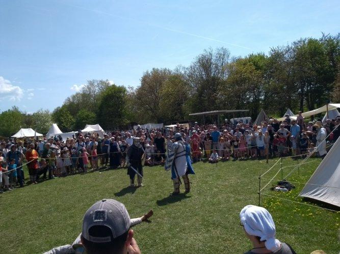 Mittelalterfest Mundenhof -Schaukampf