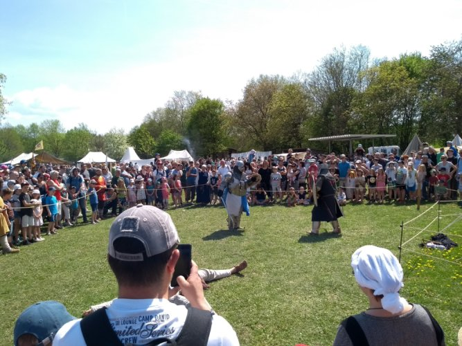 Mittelalterfest Mundenhof - Schaukampf
