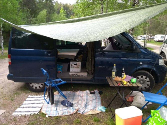 Chaos beim Campen. Erster Versuch bitte nicht bewerten