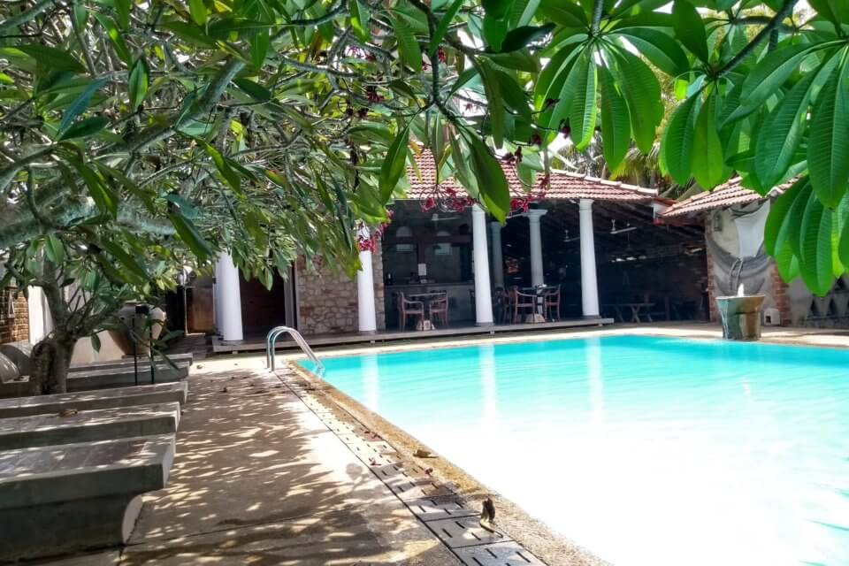 Hotel Pool in Negombo - Villa Araliya