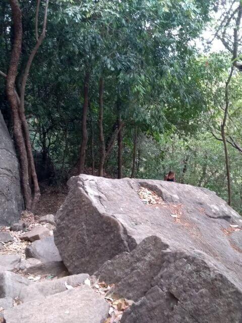 Pidurangala Aufstieg