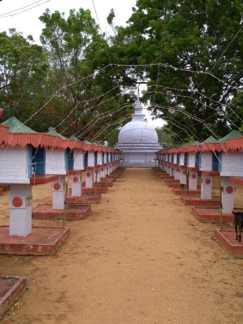 Tempel bei Sigiriya