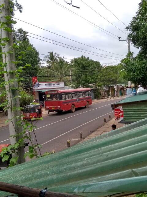 Durchgangsstraße Sigiriya