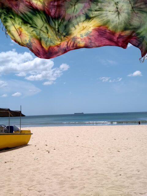 Strand in Uppuveli in Trincomalee