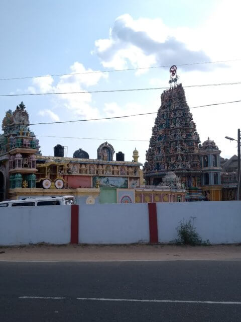 Hindutempel in Trincomalee