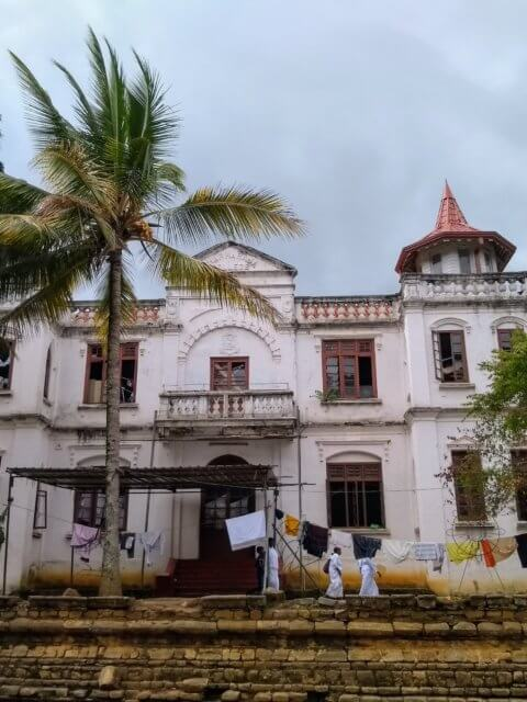 Kandy beim Tempel
