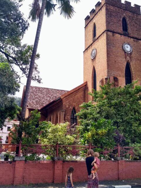 St. Pauls Kirche in Kandy
