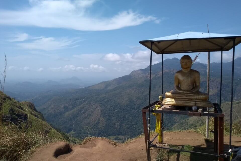 Little Adams Peak Aussicht