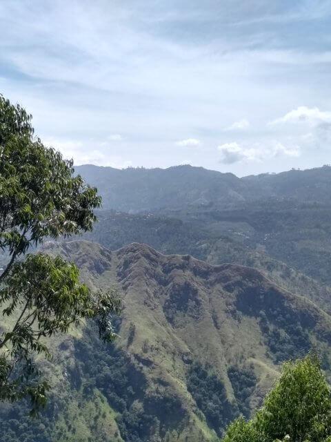 Little Adams Peak vom Ella Rock aus gesehen