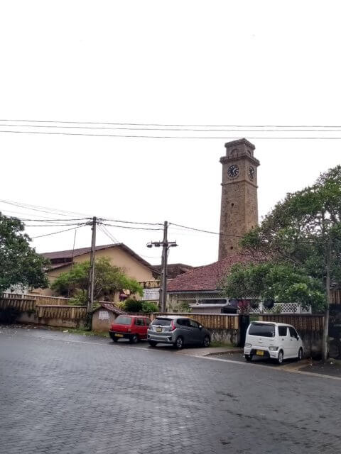 Glockenturm in Fort Galle