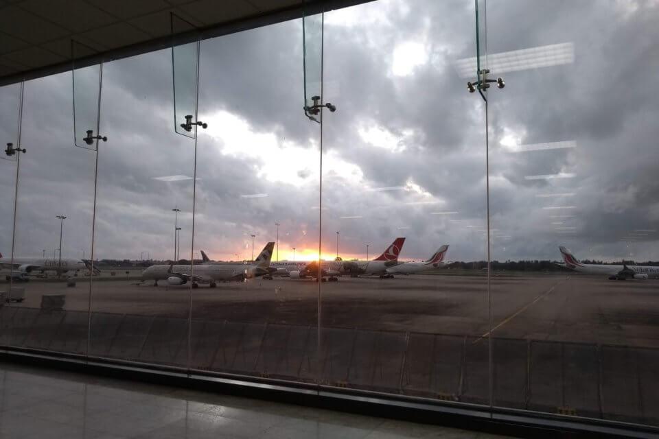 Flugplatz in Colombo