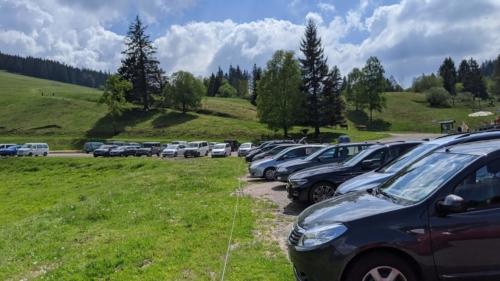 Toter Mann Parkplatz bei Stollenbachhütte