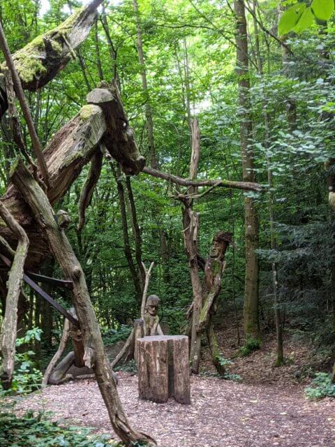 Waldmenschen Freiburg zwischen Wiehre und Günterstal