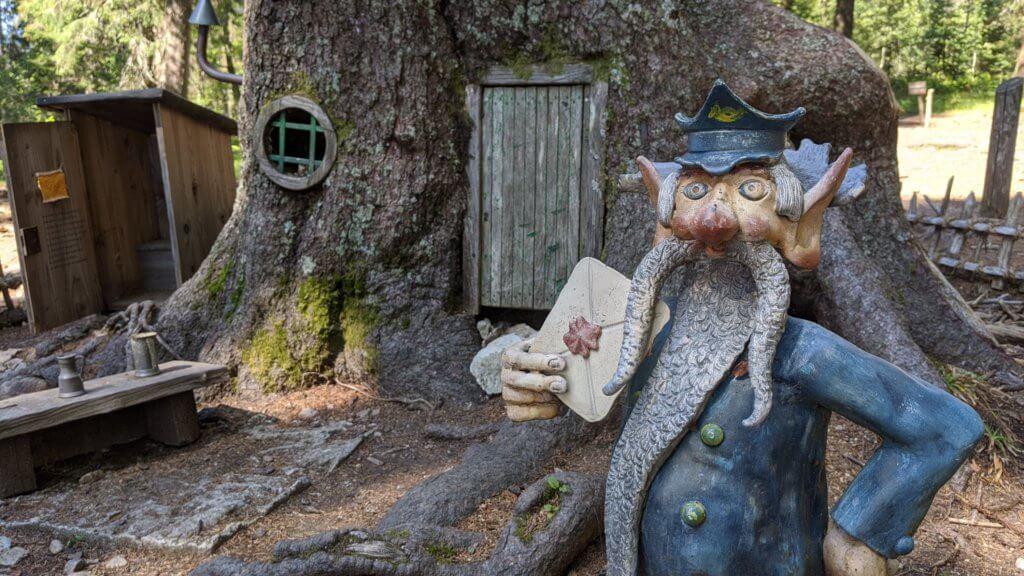 Wichtelpfad Feldberg - Mit Klohäuschen