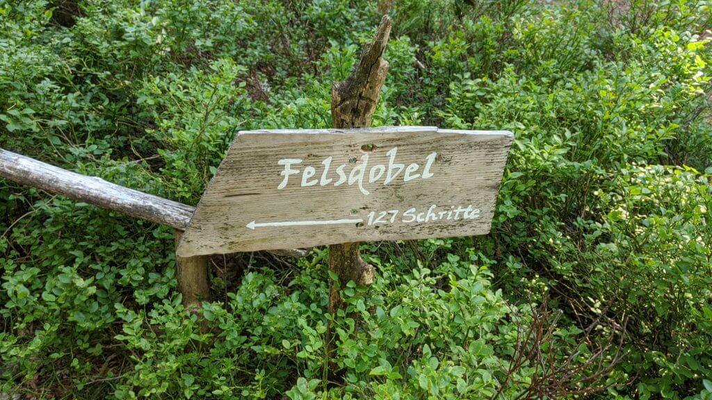 Wichtelpfad Feldberg Felsdobel